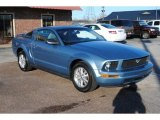 Windveil Blue Metallic Ford Mustang in 2006