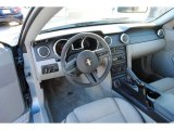 2006 Ford Mustang V6 Deluxe Coupe Light Graphite Interior