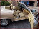 1981 Mercedes-Benz SL Class Interiors
