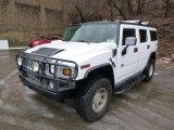 2004 Hummer H2 White
