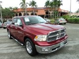 2012 Deep Cherry Red Crystal Pearl Dodge Ram 1500 Laramie Crew Cab #89607448
