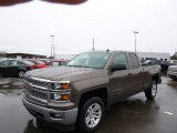 2014 Brownstone Metallic Chevrolet Silverado 1500 LT Double Cab 4x4 #89607573