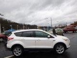 2013 White Platinum Metallic Tri-Coat Ford Escape SEL 2.0L EcoBoost 4WD #89607483