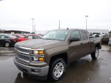 2014 Brownstone Metallic Chevrolet Silverado 1500 LT Double Cab 4x4 #89607572
