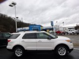 2011 White Platinum Tri-Coat Ford Explorer XLT 4WD #89607482