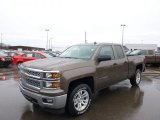 2014 Brownstone Metallic Chevrolet Silverado 1500 LT Double Cab 4x4 #89607571