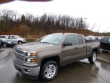 2014 Brownstone Metallic Chevrolet Silverado 1500 LT Double Cab 4x4 #89607556