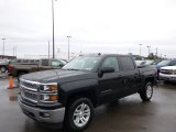 2014 Black Chevrolet Silverado 1500 LT Crew Cab 4x4 #89607555