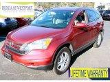 2011 Tango Red Pearl Honda CR-V EX-L 4WD #89607433