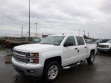 2014 Summit White Chevrolet Silverado 1500 LT Crew Cab 4x4 #89607551