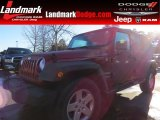 2012 Flame Red Jeep Wrangler Unlimited Sport S 4x4 #89629708