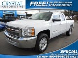 2012 Summit White Chevrolet Silverado 1500 LS Extended Cab #89629774