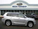 2010 Classic Silver Metallic Toyota Highlander Hybrid Limited 4WD #89637079
