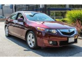 2010 Basque Red Pearl Acura TSX Sedan #89637003