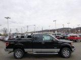 2014 Tuxedo Black Ford F150 XLT SuperCab 4x4 #89636996