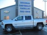 2014 Silver Ice Metallic Chevrolet Silverado 1500 High Country Crew Cab 4x4 #89637419