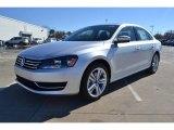 2014 Reflex Silver Metallic Volkswagen Passat TDI SEL Premium #89637198