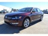 2014 Opera Red Metallic Volkswagen Passat TDI SE #89637197