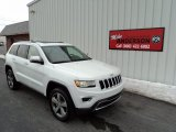2014 Bright White Jeep Grand Cherokee Limited 4x4 #89637400