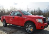 2014 Race Red Ford F150 STX SuperCab #89637045