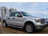 2014 Ingot Silver Ford F150 XLT SuperCrew #89637044