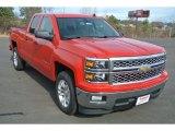 2014 Victory Red Chevrolet Silverado 1500 LT Double Cab #89637247