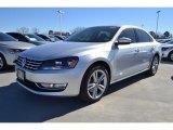 2014 Reflex Silver Metallic Volkswagen Passat TDI SEL Premium #89674132