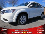 2014 White Dodge Journey Amercian Value Package #89673948