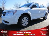 2014 White Dodge Journey Amercian Value Package #89673947