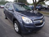2014 Atlantis Blue Metallic Chevrolet Equinox LT #89674302