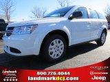 2014 White Dodge Journey Amercian Value Package #89673945