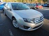 2010 Brilliant Silver Metallic Ford Fusion Hybrid #89674117
