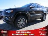 2014 Brilliant Black Crystal Pearl Jeep Grand Cherokee Limited 4x4 #89673941