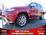 2014 Deep Cherry Red Crystal Pearl Jeep Grand Cherokee Summit 4x4 #89673935