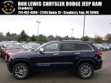 2014 True Blue Pearl Jeep Grand Cherokee Limited 4x4 #89673842
