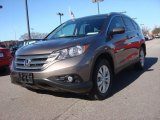 2013 Kona Coffee Metallic Honda CR-V EX-L AWD #89673913