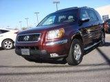 2007 Dark Cherry Pearl Honda Pilot EX-L 4WD #89673912