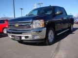 2012 Imperial Blue Metallic Chevrolet Silverado 1500 LT Crew Cab 4x4 #89673910
