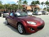 2009 Copper Red Mica Mazda MX-5 Miata Sport Roadster #89673818