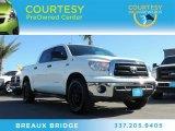 2013 Super White Toyota Tundra SR5 CrewMax 4x4 #89674234