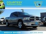 2011 Mineral Gray Metallic Dodge Ram 1500 SLT Crew Cab #89674233