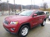 2014 Deep Cherry Red Crystal Pearl Jeep Grand Cherokee Laredo 4x4 #89674142