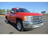 2012 Victory Red Chevrolet Silverado 1500 Work Truck Regular Cab #89714334