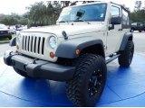 2011 Sahara Tan Jeep Wrangler Sport 4x4 #89713939