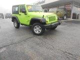 2012 Gecko Green Jeep Wrangler Sport 4x4 #89714513