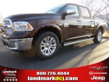 2014 Western Brown Ram 1500 Laramie Longhorn Crew Cab #89714023