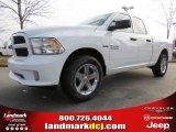 2014 Bright White Ram 1500 Express Quad Cab #89714021