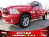 2014 Flame Red Ram 1500 Express Quad Cab 4x4 #89714018