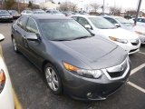2010 Polished Metal Metallic Acura TSX Sedan #89714502