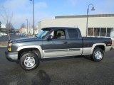 2004 Dark Gray Metallic Chevrolet Silverado 1500 Z71 Extended Cab 4x4 #89714413